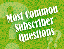 Most-common-questions